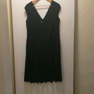 Laura Plus Black Elegant Dress